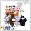 Factory direct sale Custom Plush hand puppet, glove puppet, Plush finger puppet