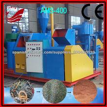 máquina de reciclaje de chatarra de alambre de cobre