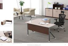 2015 new design office reception desk steel office table HC-AB646