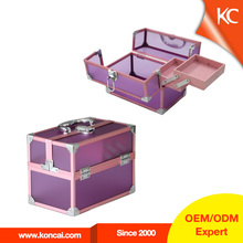 Wholesale China Clear Acrylic cosmetic carry case, acrylic transparent makeup case