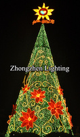2015 made in china wholesale christmas decorations tree top star