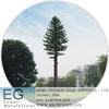 Steel GSM 3g antenna telecommunication pine tree camouflaged tower