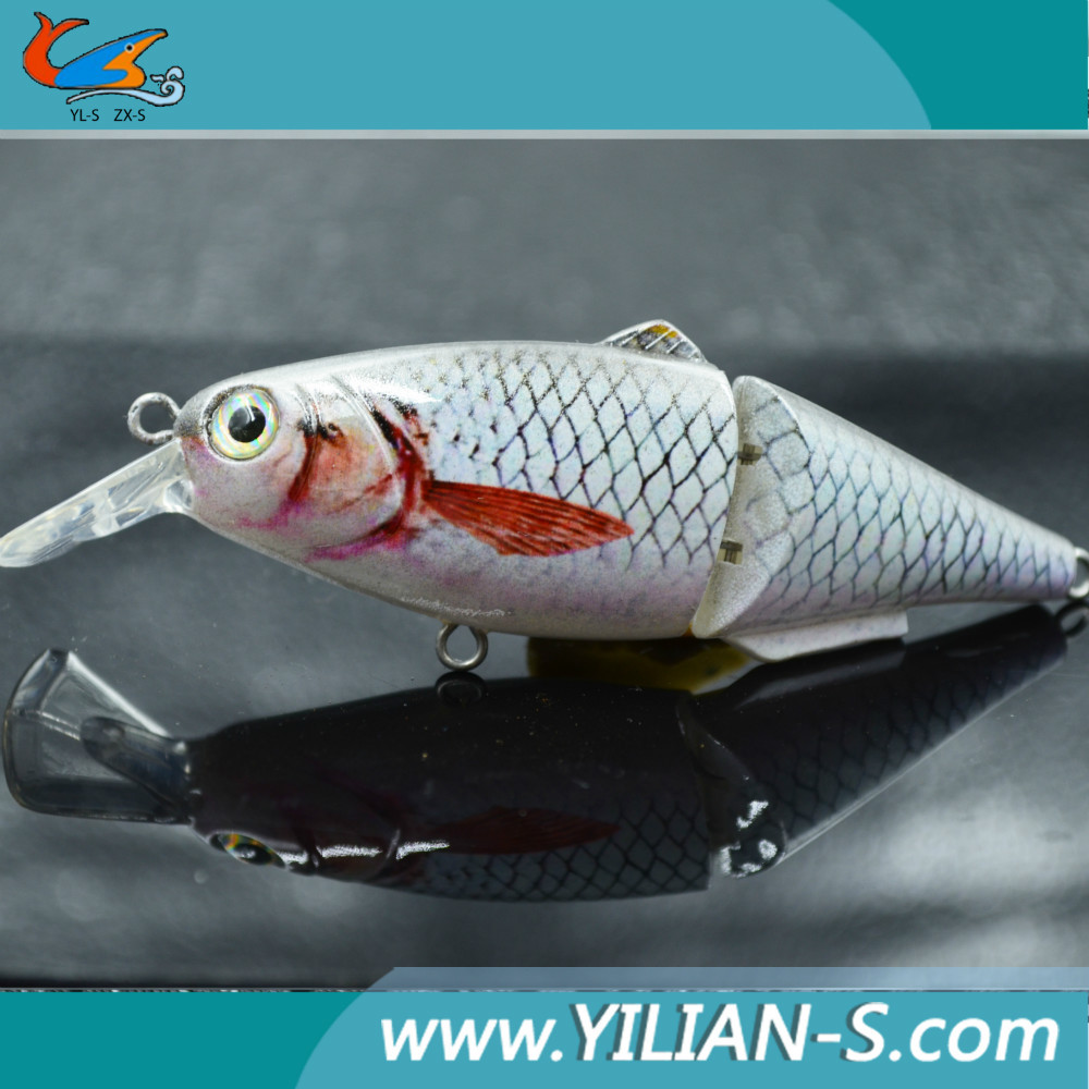 Mini jointed fishing lures landlocked salmon lures fishing for Salmon fishing lures
