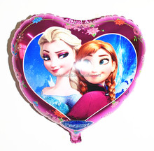 Popular frozen elsa sisters metallic balloons wholesale christmas ornaments