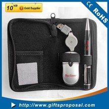 Maintenance Tool Kit Travel Computer Accessories for Mobile Phone Laptop with Wired Mouse and Drive Pen