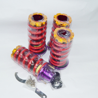 Racing Coilover Suspension Front Rear Spring Sleeve Kit