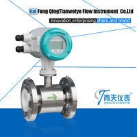 digital flow meter water pvc pipe