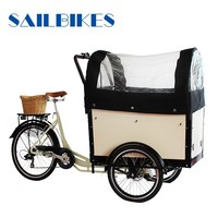 non electric cargo pedal trike tricycle for sale