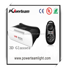 New VR BOX 3d Glasses Mobile Phone Virtual Reality Fit 4.7 to 6.0 inch mobile phone 3 d Glasses Print Logo vr Headset