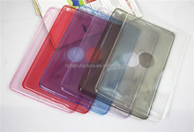 Ultra Thin Crystal Soft TPU Transparent Clear Case for ipad mini 2
