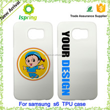 New mobile phone cases, customise phone case for samsung galaxy s6 plastic cover