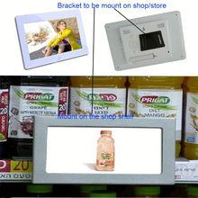 "Retail store wall mounted 7"" motion sensor functional lcd advertising player/display/digital signage"