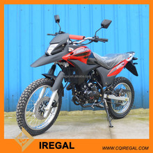250cc On Rough Road Motorcycle