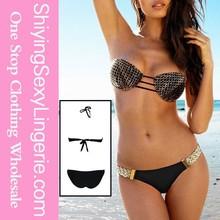 Fashion Halter mesh triangl bikini micro mesh bikini mix and match swimsuits