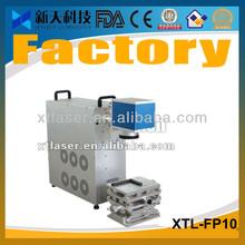 XTL-FP10 optical fiber laser marking machine for lighter surface