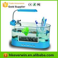 Mini Desktop aquarium / Multifunctional USB Desktop Aquarium Mini eco aquariums Fish Tank