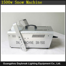 big snow maker 1500w high power snow machine powerful stage Party disco club Bar Artificial snow machine