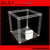 3x3m Recycle Cube China Aluminum Corner Truss With Floor For Booth