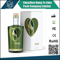 Gloss lamination printed cardboard box packaging olive oil