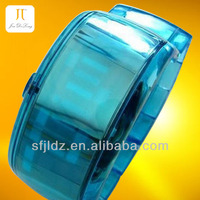 Fashion High quality silicone touch screen Violet watch japan 2013