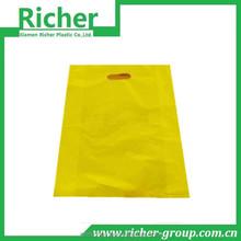washing powder packaging die cut handle bag