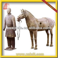 Chinese Ancient Statue Xian Terracotta Soldier for Garden Decoration BMY-1237