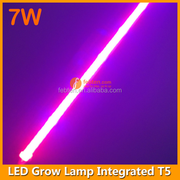 blue and red 4ft 26w led plant grow light tube lighting t5 integrated. Black Bedroom Furniture Sets. Home Design Ideas