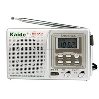 Kaide kk-9 Digital 9 Band Radio FM / MW / SW1-7 TV Sound Receiver + Sensitivity Adjustment + Timer switch