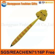 Office stationary ball point pen with custom logo print, advertise custom logo ball point pen, cartoon ball point pen with logo