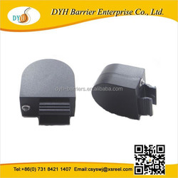 Black semicircular anti-theft pull boxes with adhesive glue and custom metal accessories