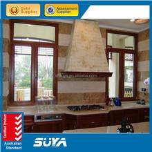 aluminium windows with mosquito net sound proof aluminum casement window