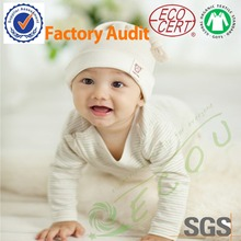 Eco friendly Organic Cotton knit fabric made child clothes
