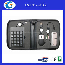 Portable 4 in 1 Laptop USB Travel Set