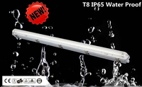 T5 T8 IP65 fluorescent light fixtures fittings