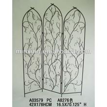 decorative iron fire screen