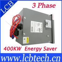 Low price three phase T600 400KW 3 phase power saver/power saver pro/ electric power saver with 1 year warranty