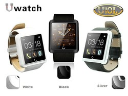 u10 smart watch with 1.54'' touch display smart phone watch
