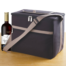 Picnic time wine cooler bag tote