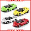 Metal miniature toy racing vehicle model