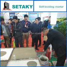 Self-leveling Mortars for PVC/wood flooring - for concrete use -dry-mixing mortars --SETAKY XINDADI GROUP