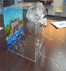Clear new products acrylic reptile display cases for sale