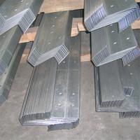 Low price long pattern light weight z steel purlin
