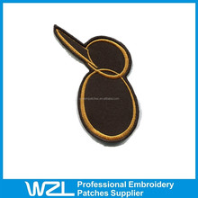 High quality embroid patch kid in cheap price
