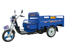 battery operated three wheeler for cargo