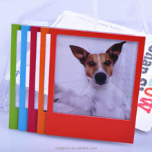 2015 best selling rainbow color magnetic picture photo frame