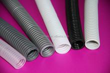 PVC/PP/PE plastic single wall corrugated pipe production line