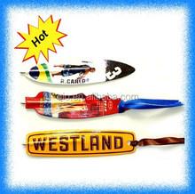 paper flat bookmark pen
