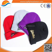 Wholesale Custom Embroidered Beanie/Man Slouch Beanie Hat Caps