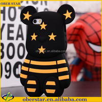 Cute Cartoon Animal Soft Silicone Case Cover For iPhone 4 4S 5 5S
