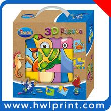 Best sale paper Ocean 3D Puzzle ocean animal puzzle cube